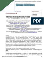 Universidad, Ciencia y Tecnología - Análisis de Los Procesos de Fabricación en Una Empresa Manufacturera Mediante Gráficos de Control Integrado