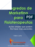 7 Segredos de Marketing Para Fisioterapeutas- V.2