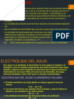 electrolisis
