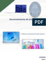 6to laboratorio de análisis químico reconocimiento de aniones
