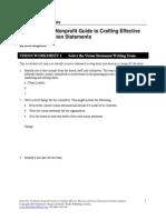 vision writing process worksheets