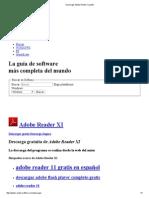 Descargar Adobe Reader XI Gratis