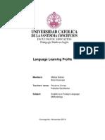 language learning profile - galvez and huenupe