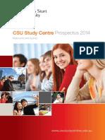 CSU Brochur