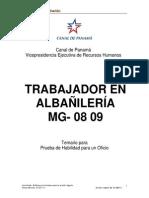 Trabajador en Albañilería
