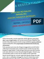 METODA REGULA FALSI (REY) 2.pptx
