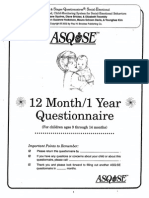 12 month questionnaire asq1