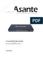 Asante FriendlyNET GX6-2400W-User Manual