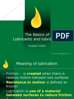Basics of Lubricants Lubrication