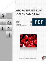 laporan praktikum golongan darah