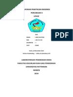 Laporan Praktikum Kimia Analitik II