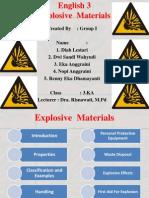 Ppt Explosive