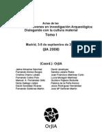 Arqueologia Del Paisanaje Tradicional como fuente de información en Arqueología - JIA2008