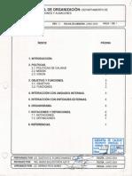 Manual de OrganizaciónDAA