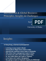 1. International and Global Business
