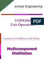 Multi Distillation 2014