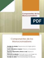 Componentes de Los Monocromadores