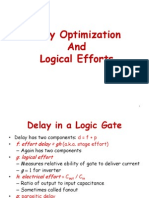 Delay Optimization & Logical Efforts