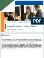 2014 Revenue Recognition a Major Challenge