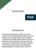 Nyeri Leher