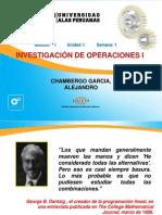02-Investigacion Operativa I- Ing Industrial Fundamentos de Programación Lineal