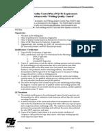 Welding Quality Control Plan Req (1)