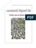traffic congestion in dhaka city and some proposal to reduce the research on traffic jam