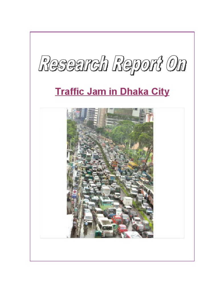 research on traffic jam traffic congestion traffic