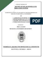 Hybrid Power Auto Irrigation System - Synopsis
