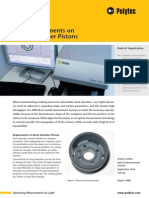 3-D Measurements on Pistons