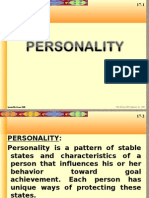 Personality and Emotions 2003