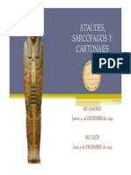 Ataúdes y Sarcófagos- Materiales de la segunda sesión