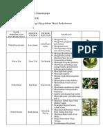 Hasil Perkebunan Dan Pertanian