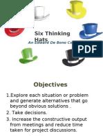6 Thinking Hats- ppt