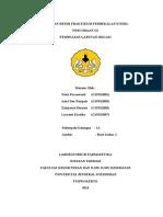 Laporan Resmi Praktikum Perbekalan Steril III