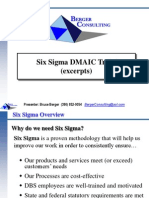 Six Sigma DMAIC Training Overview Excerpts-3!19!09