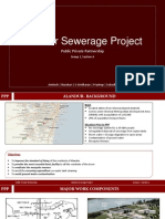 Public Private Partnership Alandur Sewerage