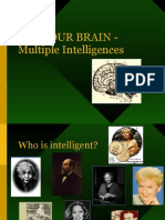 USE YOUR BRAIN Multiple Intelligences