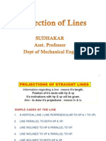 Projection of Lines (2)