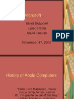 Apple vs Microsoft1968