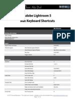 KB Lightroom Shortcuts 5 Mac