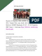 Program Kerja GUDEP Tahun 2013-2014
