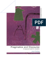 Joan Cutting Pragmatics and Discourse a