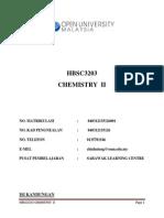tindak balas kimia