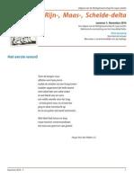 Brief Uit de Rijn Maas Schelde Delta_nov_2014
