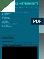 1 Measuring Instruments Basics