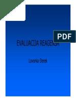 Evaluacija reagensa