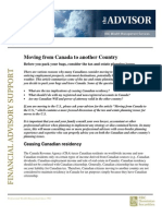 Tax Implications of Moving From Canada to Another Country