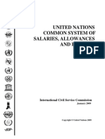 UN Common System of Salaries, Allowances and Benefits