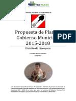 Plan de Gobierno Municipal AP Piscoyacu Al 2018 AP-propuesta Final